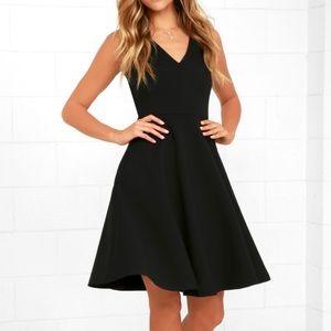 Lulus Black Dress ♠️♠️